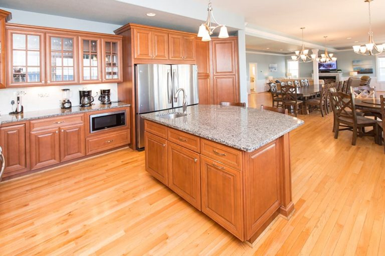 Large kitchen in Count Your Blessings